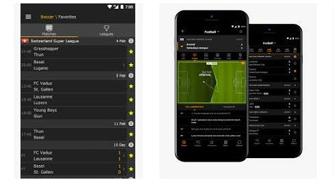 Cara melihat live score di aplikasi sbobet